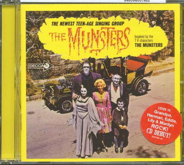 The Munsters - Inspired By The T.V. Characters 'The Munsters' (CD)