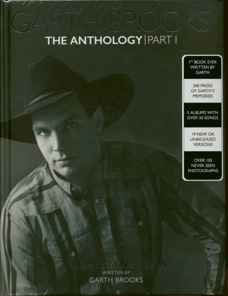 Garth Brooks The Anthology, The First Five Years (5-CD/Book)