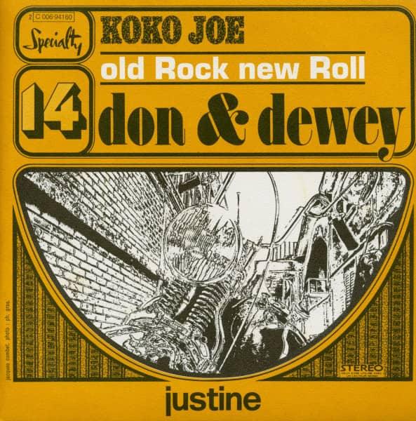 Koko Joe - Justine (7inch, 45rpm, PS)