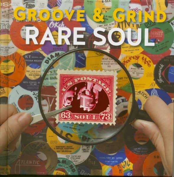 Rare Soul Groove & Grind 1963 - 1973 (4-CD Hardcoverbook)
