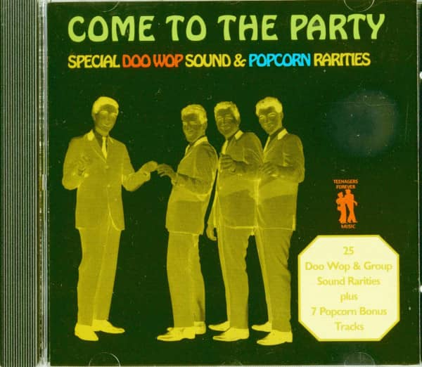Come To The Party - Doo Wop & Popcorn Rarities (CD)