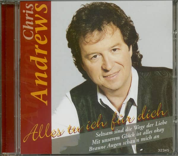 Alles tu ich für dich (CD)