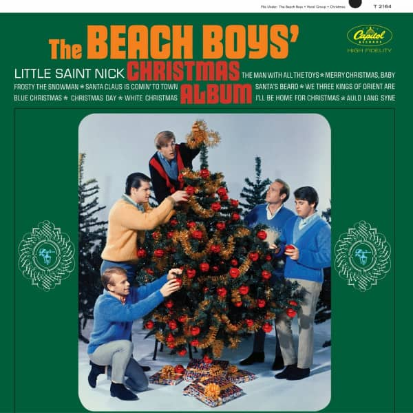 Beach Boy's Christmas Album (LP, 220g Vinyl)