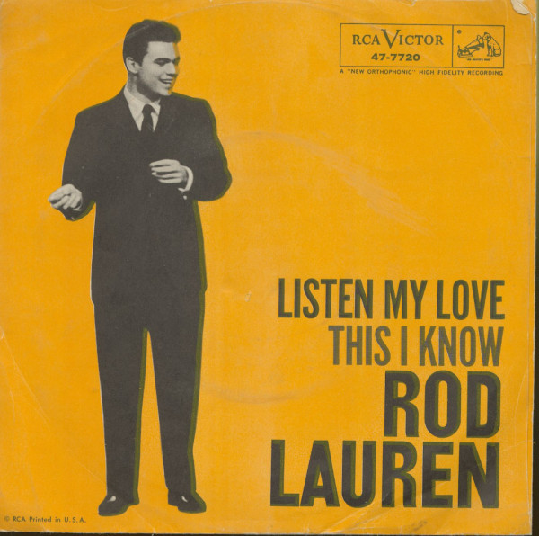 Listen My Love - This I Know (7inch, 45rpm, PS)
