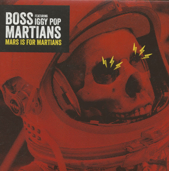 Mars For Martians (with Iggy Pop) - Inside (7inch, 45rpm, PS)