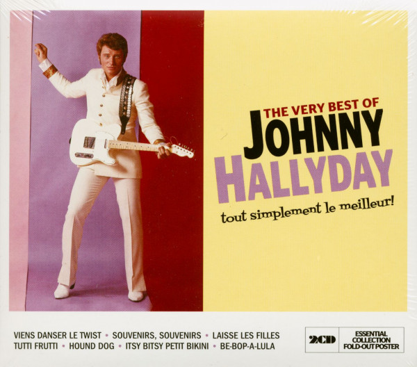 The Very Best Of Johnny Hallyday (2-CD)
