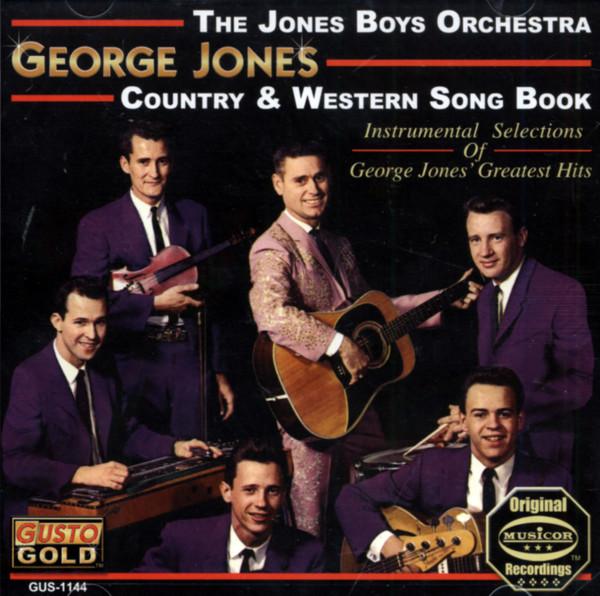 Geroge Jones - Country & Western Song Book