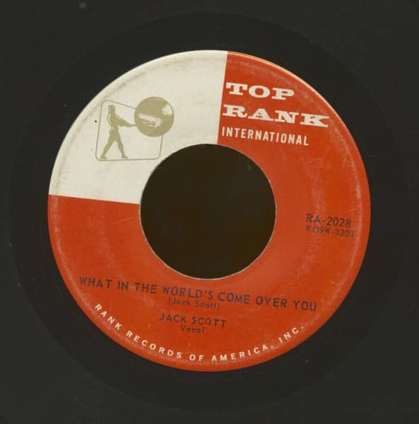 What In The World Comes Over You - Baby, Baby (7inch, 45rpm)