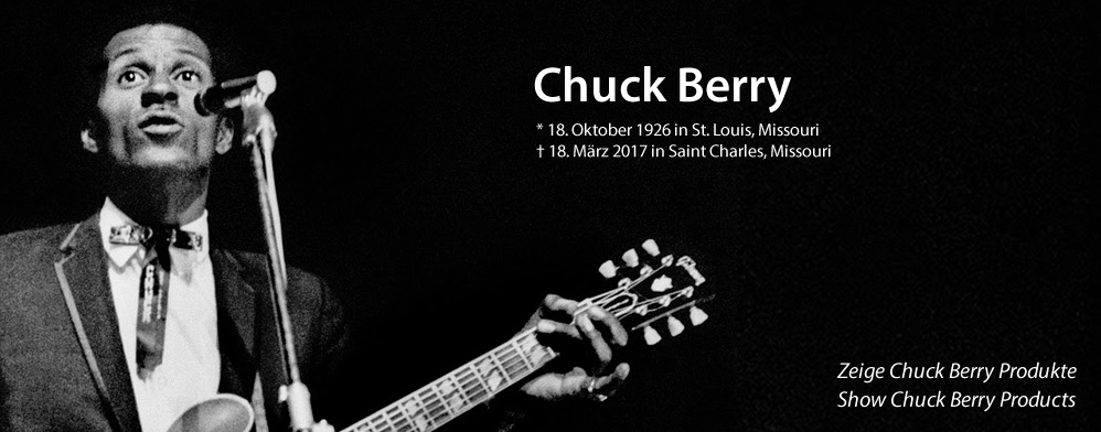 Chuck Berry is dead