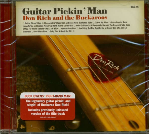 Guitar Pickin' Man - Don Rich And The Buckaroos (CD)