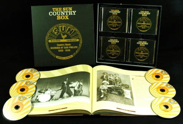 Sun Country Box 1950-1959 (6-CD Deluxe Box Set)