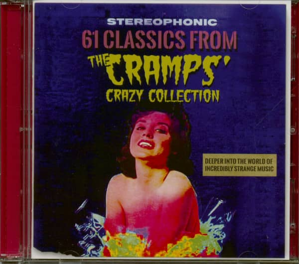 Stereophonic - 61 Classics From The Cramps' Crazy Collection (2-CD)