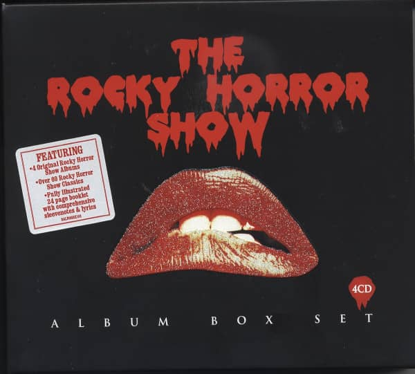 Various Cd The Rocky Horror Show Album Box Set 4 Cd Bear