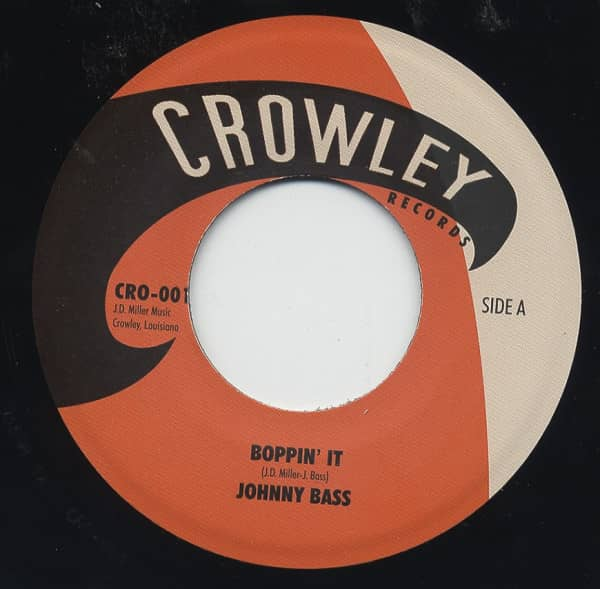 Boppin' It b-w Don't Move To Slow 7inch, 45rpm
