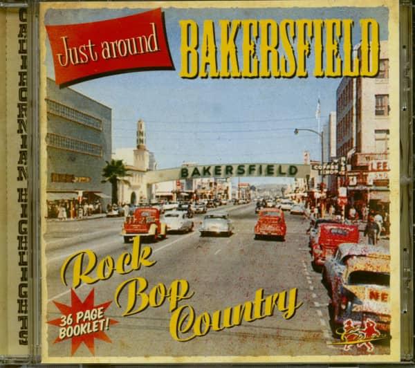 Just Around Bakersfield (CD)