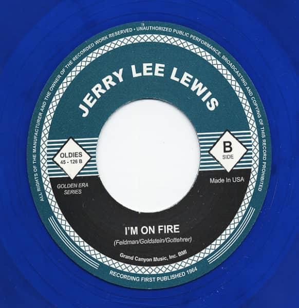 Bonnie B - I'm On Fire 7inch, 45rpm (blue wax)