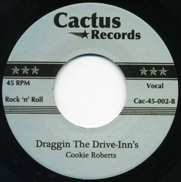 Draggin' The Drive-Inn's - Long Black...7inch, 45rpm