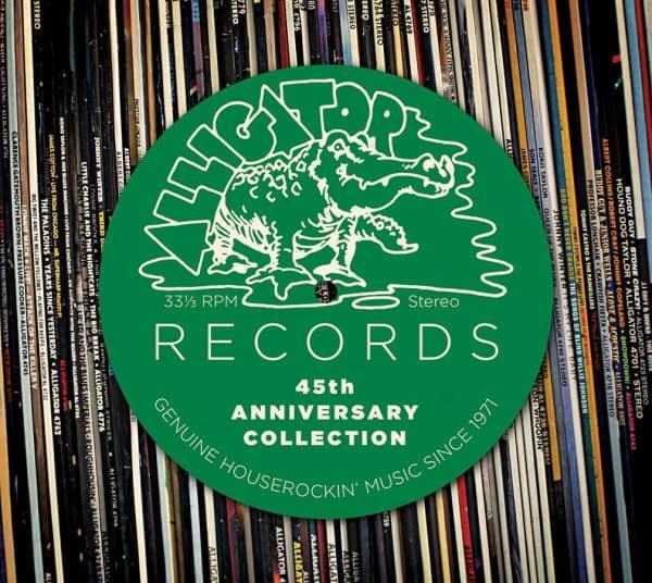 Alligator Records 45th Anniversary Collection (2-CD)