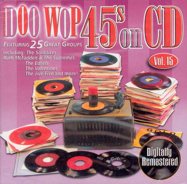 Vol.15, Doo Wop 45s On CD