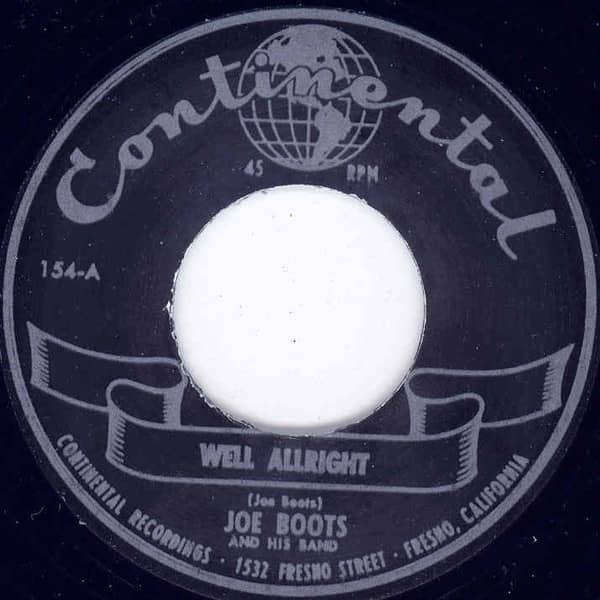 Rock & Roll Jungle Girl - Well Allright 7inch, 45rpm