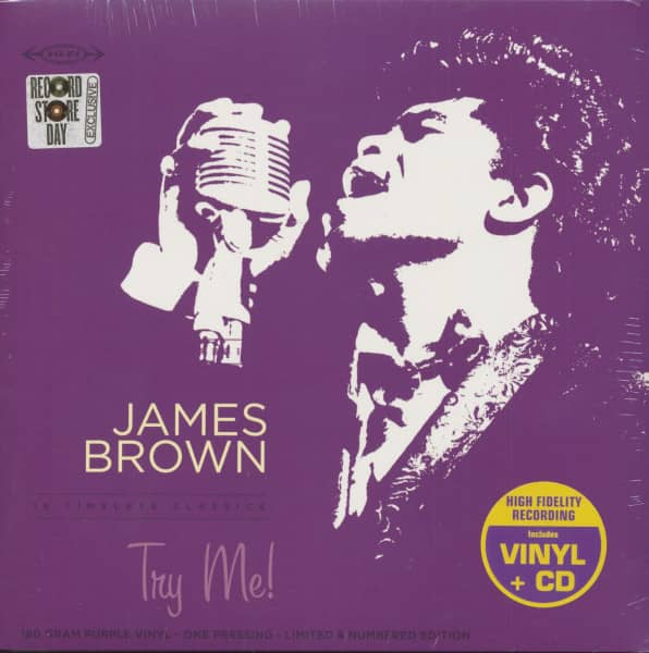 Try Me (LP with CD, 180g Vinyl, Ltd., RSD)