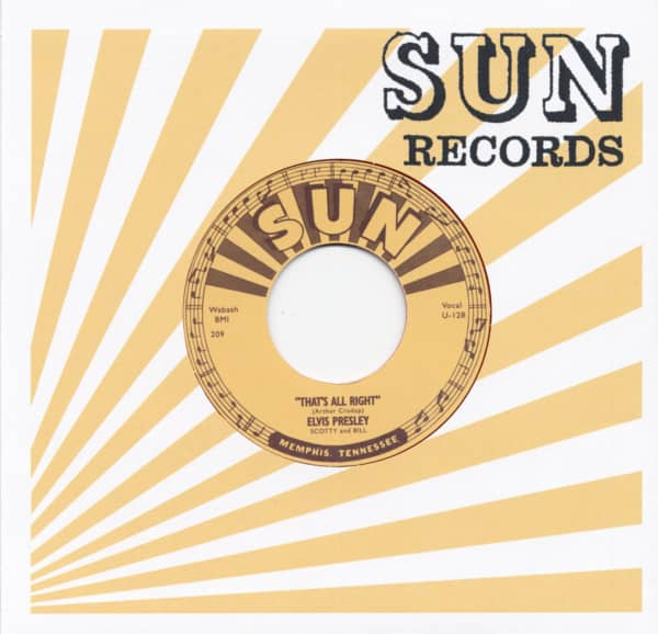 That's All Right - Blue Moon Of Kentucky 45rpm