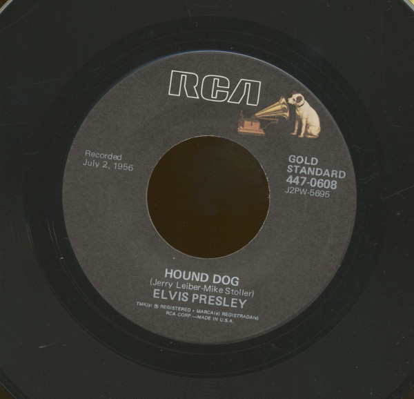 Hound Dog - Don't Be Cruel (7inch, 45rpm)
