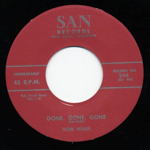 Oh Love b-w Gone, Gone, Gone 7inch, 45rpm