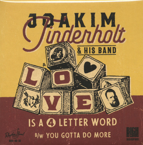 Love Is A 4 Letter Word - You Gotta Do More (7inch, 45rpm, PS)