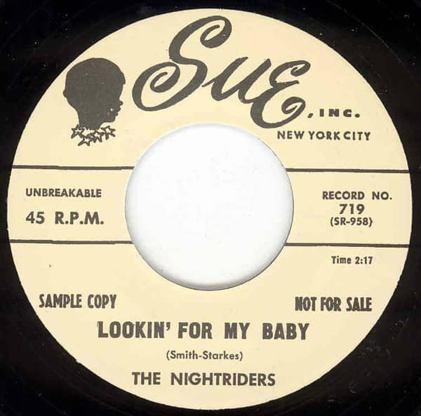 Lookin' For My Baby b-w St.Loo 7inch, 45rpm
