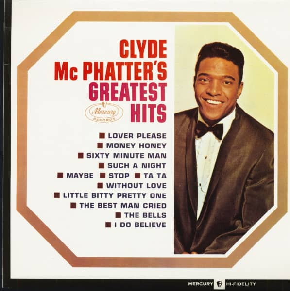 Clyde McPhatter's Greatest Hits (LP)