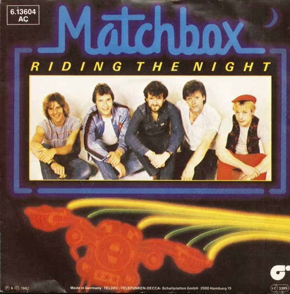 Riding The Night (7inch, 45rpm, PS)
