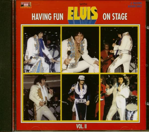 Having Fun With Elvis On Stage Vol.2 (CD)