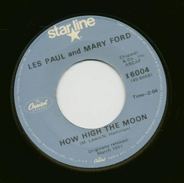 How High The Moon - Vaya Con Dios (7inch, 45rpm)