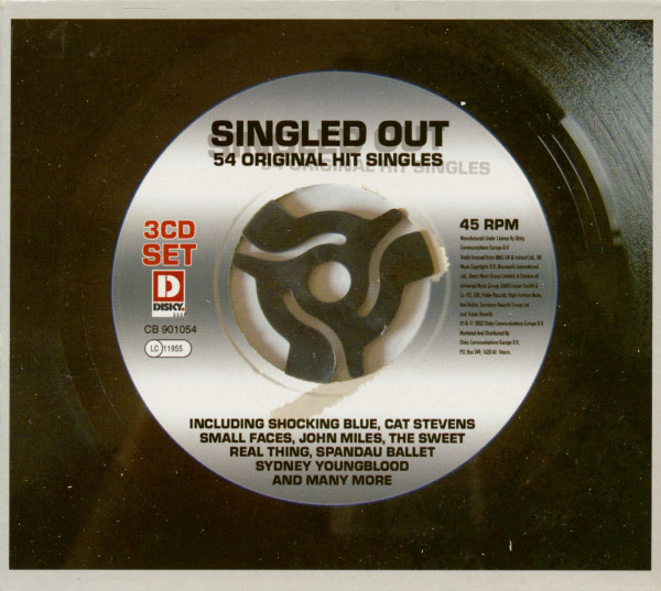 Singled Out - 54 Original Hit Singles (3-CD)