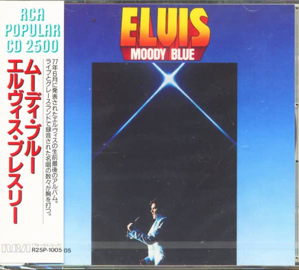 Moody Blue (CD, Japan)