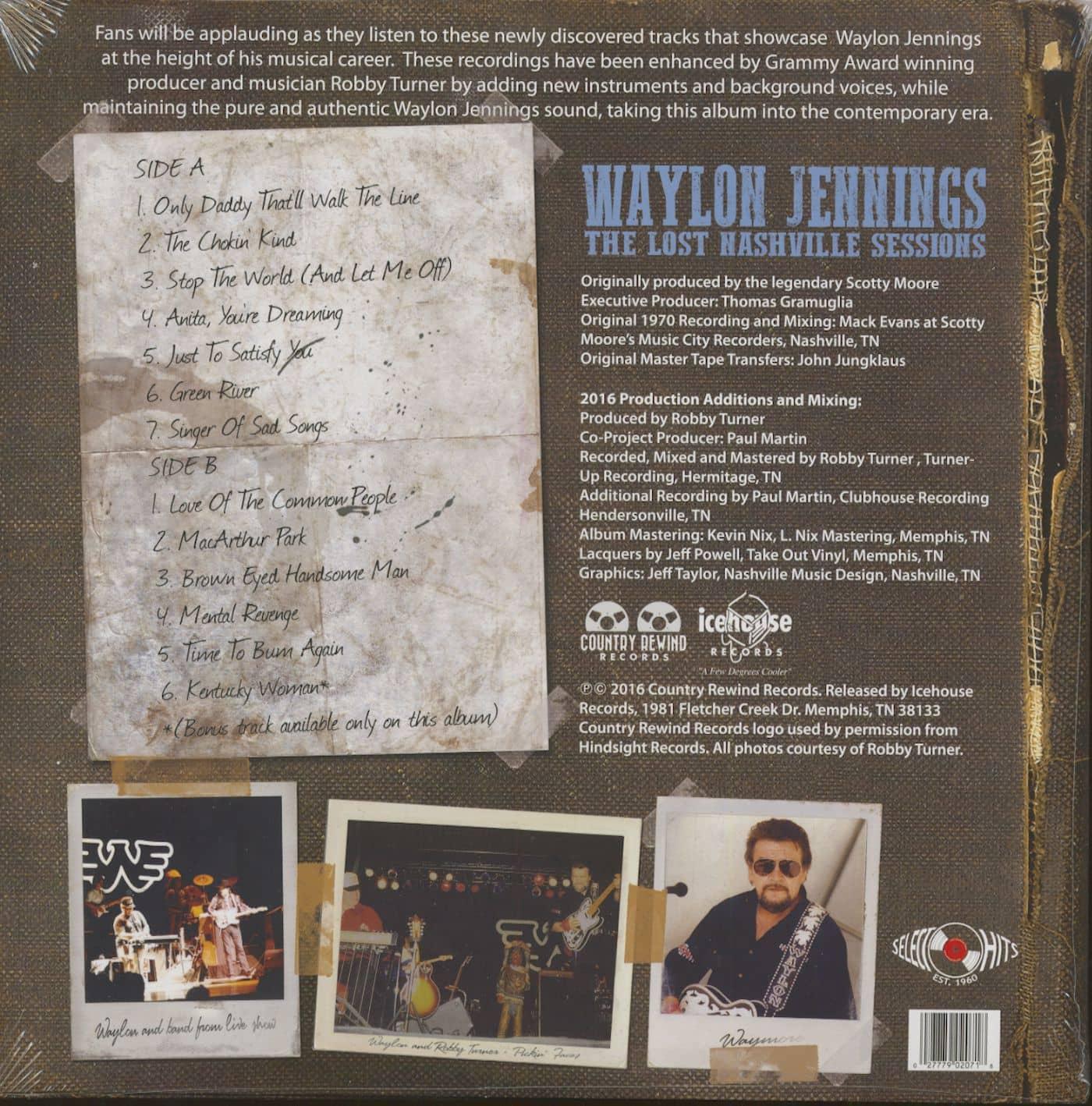 Preview The Lost Nashville Sessions Lp 180g Vinyl