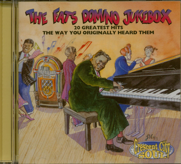 The Fats Domino Jukebox - 20 Greatest Hits (CD)
