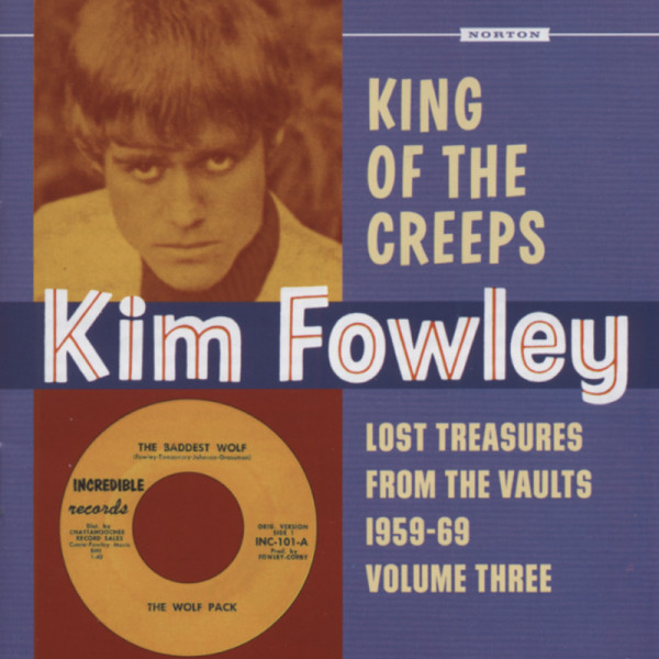 King Of The Creeps - Lost Treasures Vol.3