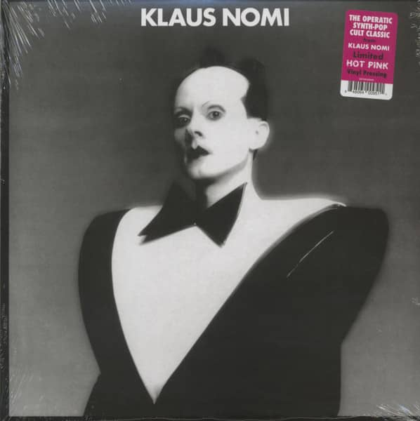Klaus Nomi (LP, Hot Pink Vinyl, Ltd.)
