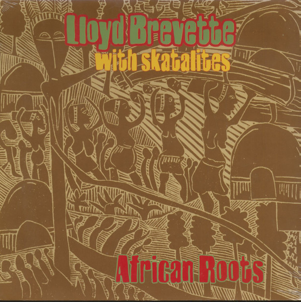 African Roots - Lloyd Brevette With The Skatalites (LP)