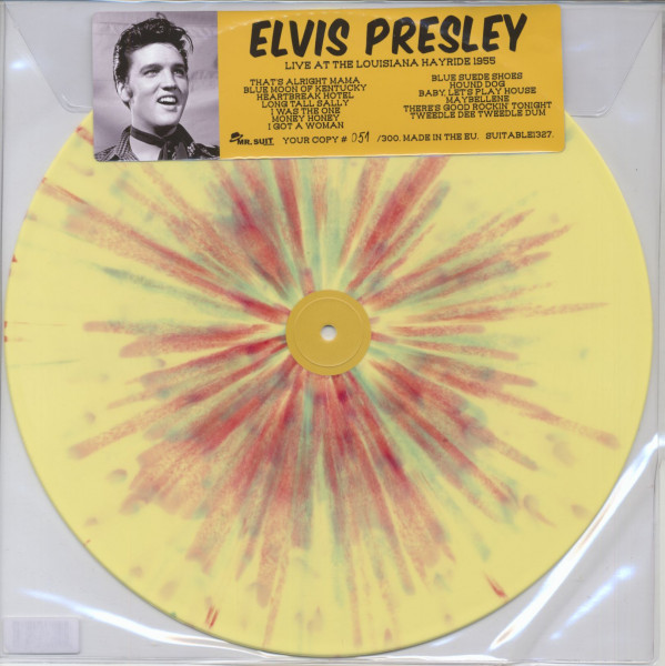 Live At The Louisiana Hayride (LP, Color Vinyl, Ltd.)