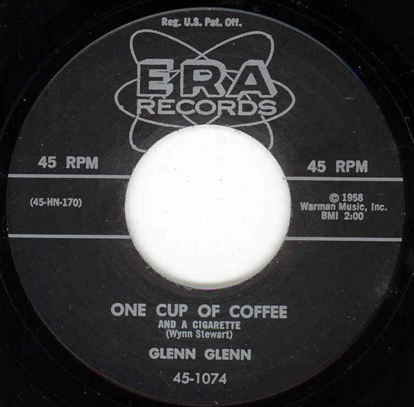One Cup Of Coffee - Laurie Ann 7inch, 45rpm