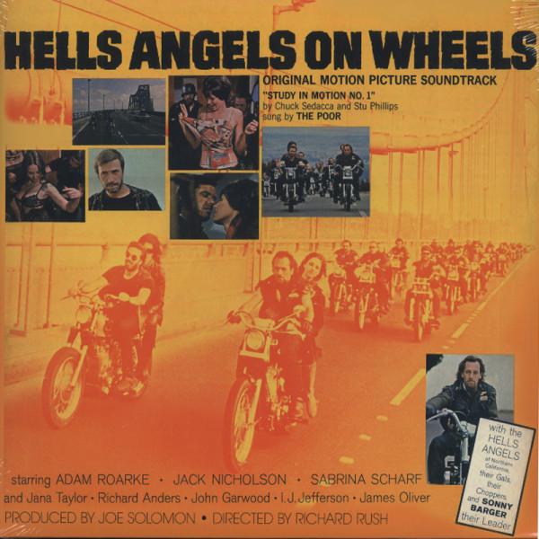 Hells Angels On Wheels - Soundtrack 180g Viny