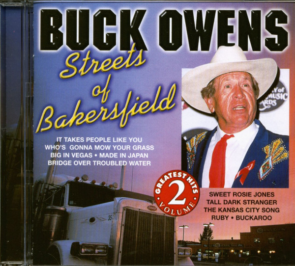 Streets Of Bakersfield (CD)