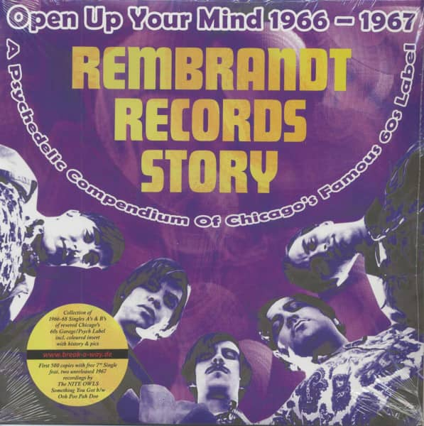 Open Up Your Mind - The Rembrandt Records Story (LP)