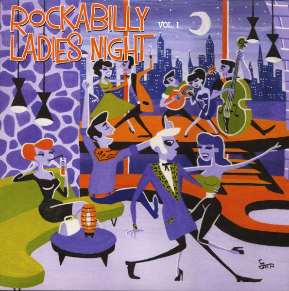Rockabilly Ladies Night Vol.1 (7inch, EP, 45rpm, PS, SC)