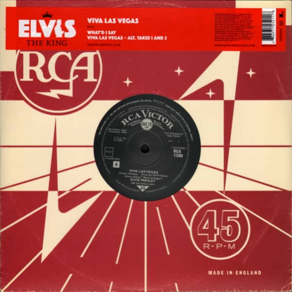 Elvis The King - 18 Of The Greatest Singles Ever Vol.13 (10inch EP, 45rpm, Ltd.)