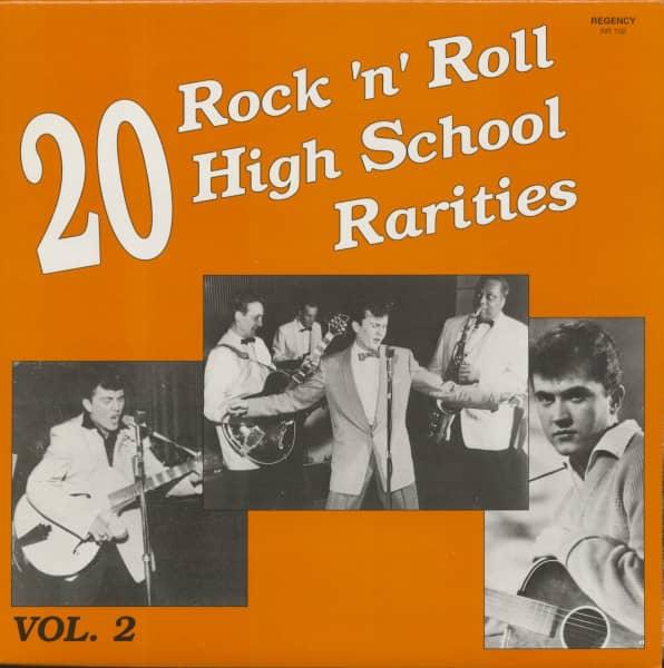 20 Rock & Roll High School Hits Rarities Vol.2 (LP)