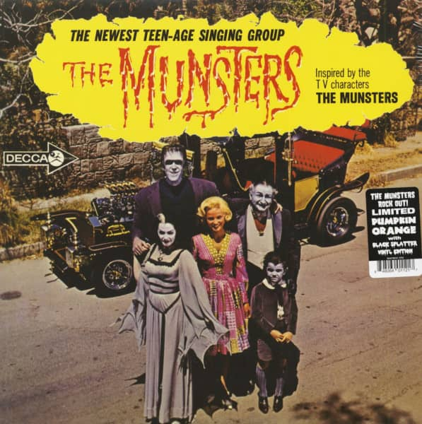 The Munsters - Inspired By The T.V. Characters 'The Munsters' (LP, Colored Vinyl))